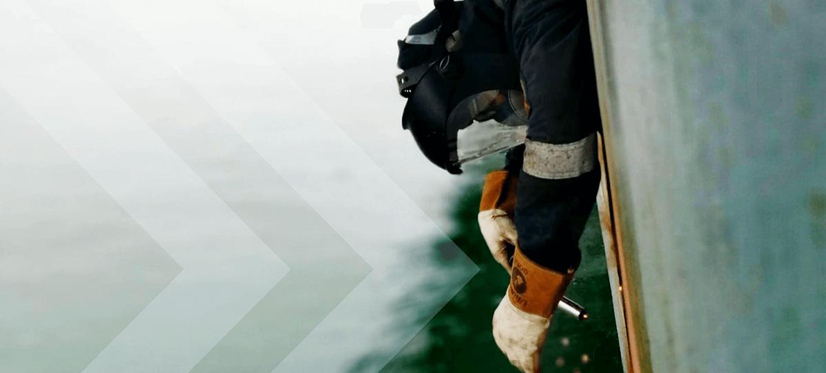 Lloyds register approved ship welding