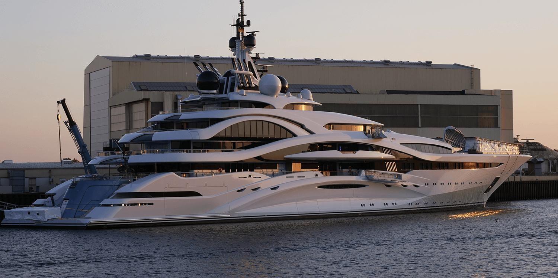 superyacht lamination services