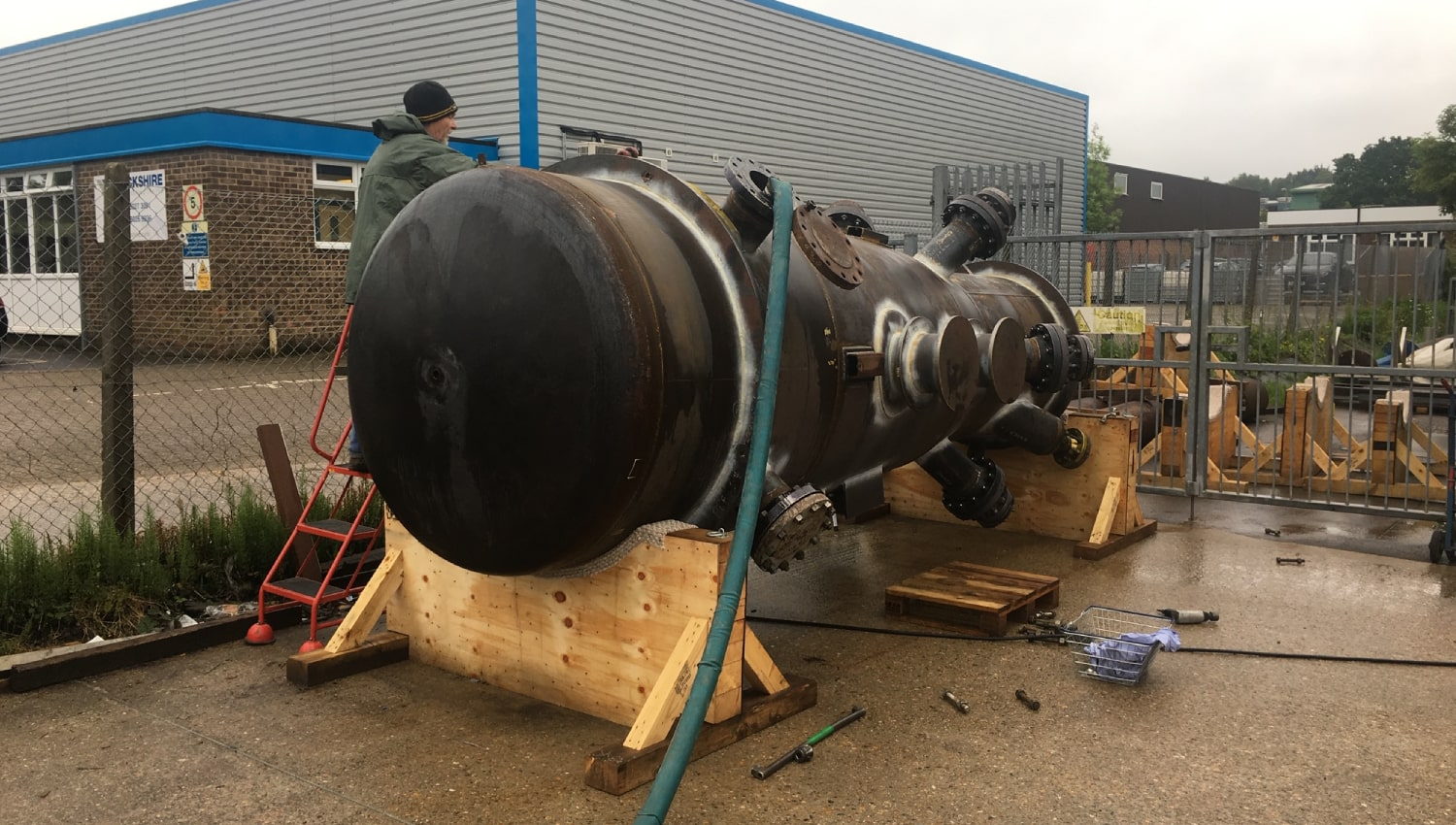 fccu riser hythe group pipework fabrication for uk petrochemical industry petrochem