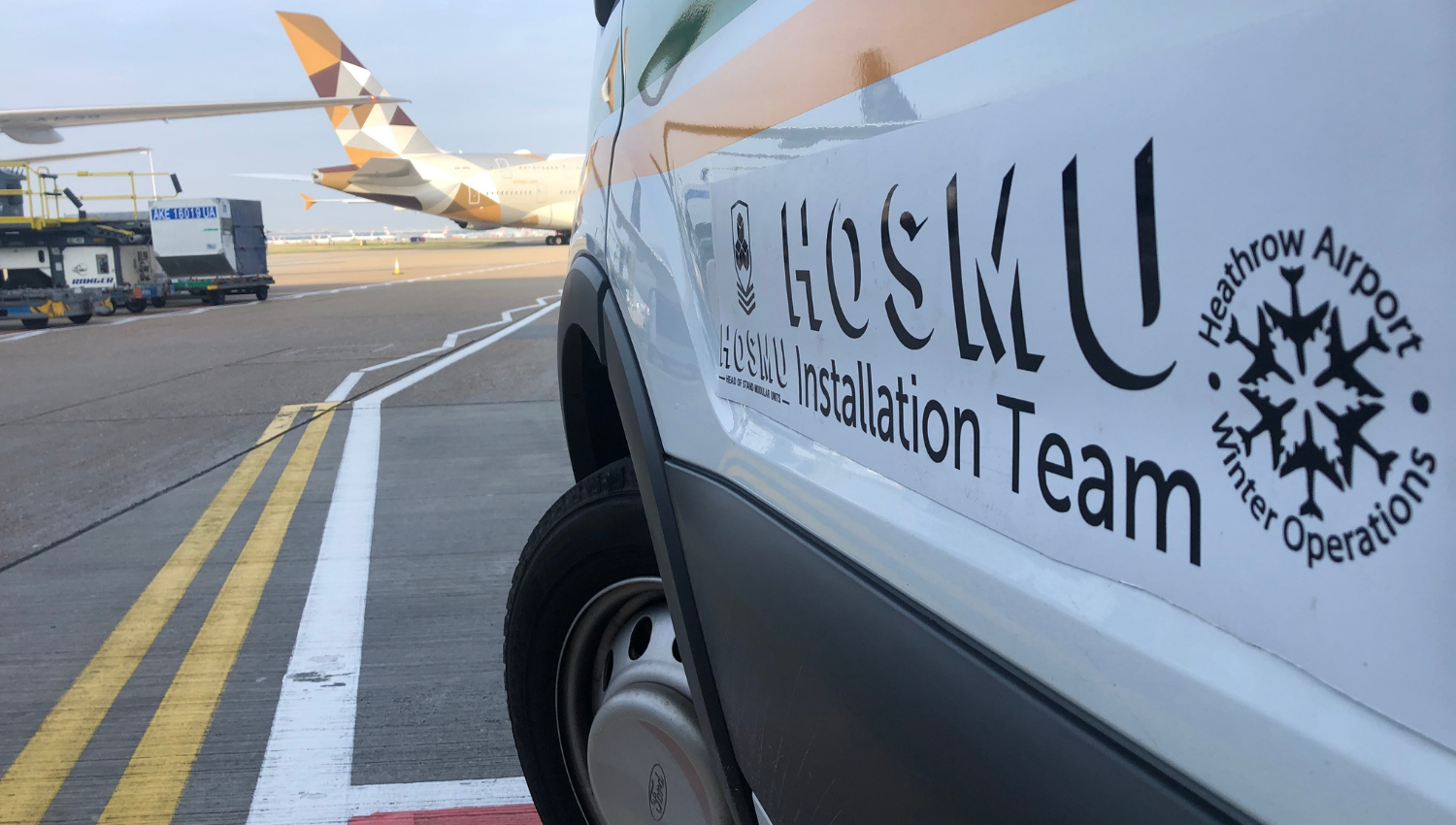 HOSMU airport winter resilience storage and distribution solutions