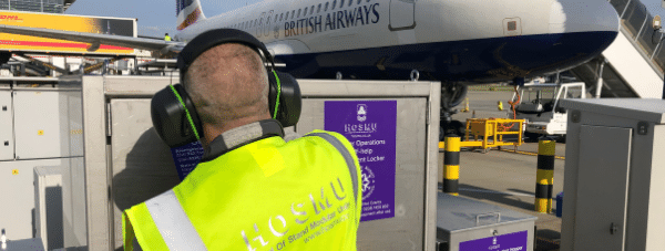 storage and distribution solutions by HOSMU at heathrow airport airside winter resilience