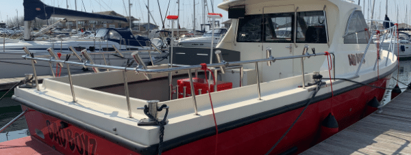 Technical Director Luke Fitzgerald recently designed and built a bespoke bait station for a fishing boat.