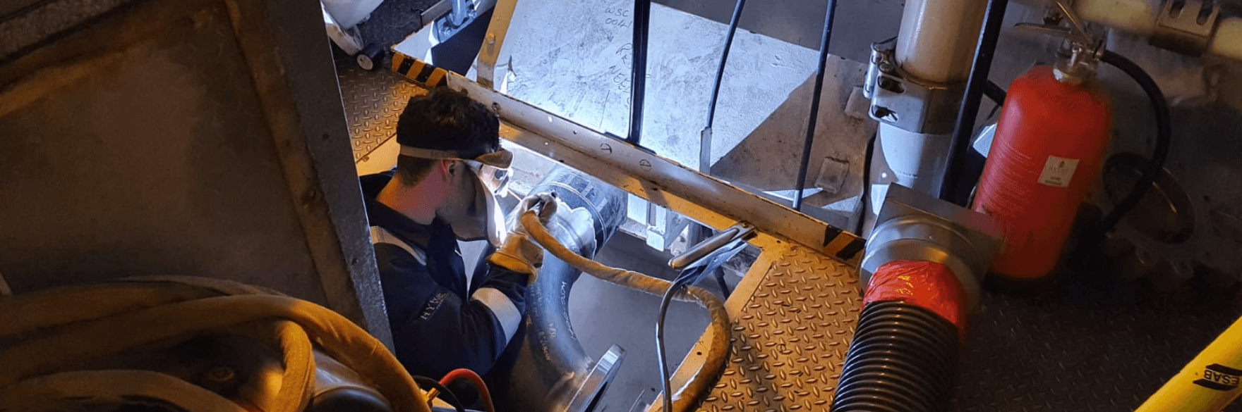 Hythe marine services engineers for royal navy vessels